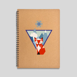 Mountain fox notebook